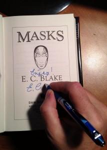 My hand signing MASKS