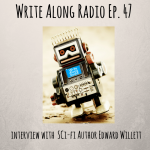 Write Along Radio interview graphic