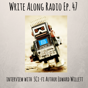 Write Along Radio interview graphic